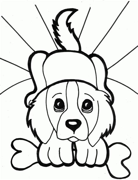 coloring pages of cute puppies and kittens cute kittens and puppies coloring pages puppy pictures to