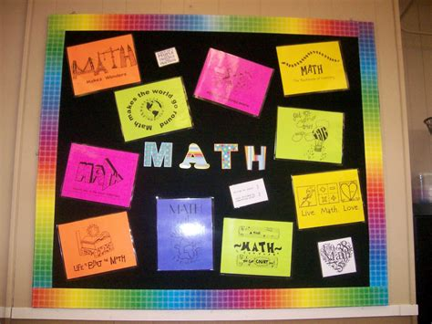 Math Decorations For Classroom by Math Classroom Is Done
