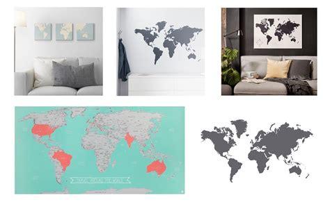 wereldkaart ikea wereldkaarten shoppen bij ikea en hema travelvibe