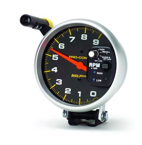Auto Meter 6851 Pro Comp Single Range Tachometer   Autoplicity