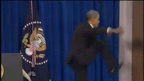Obama Kicks Door by Obama Kicks The Door Open Frankom