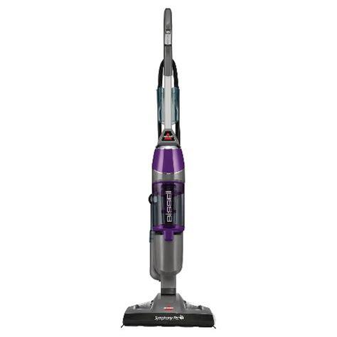 bissell symphony pet    vacuum  steam mop