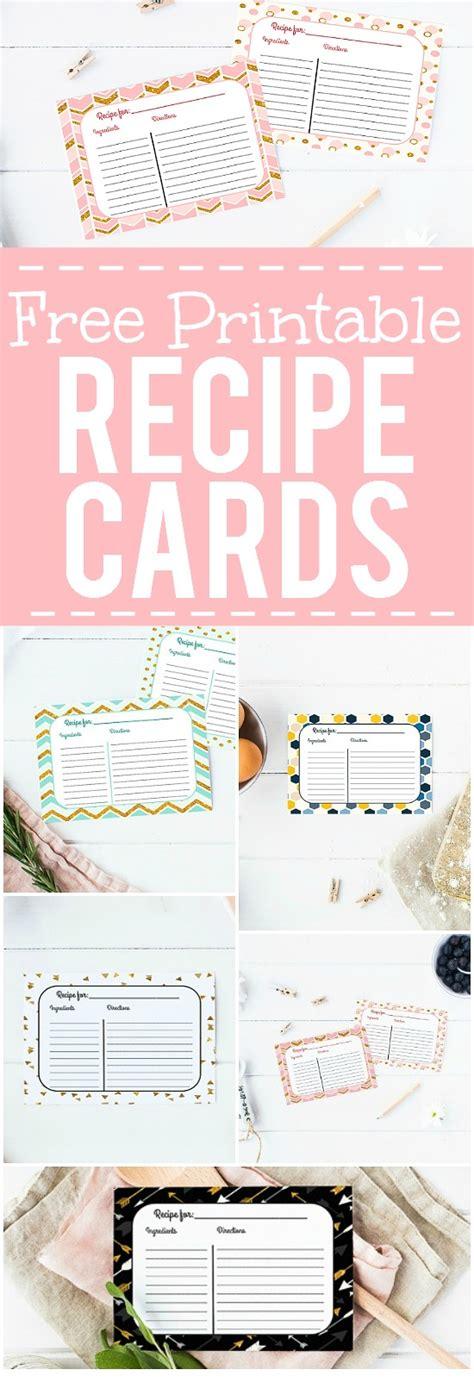free printable recipe card template for mac free printable recipe cards the gracious wife