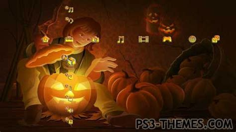 slideshow themes ps3 ps3 themes 187 halloween pro slide show theme normal