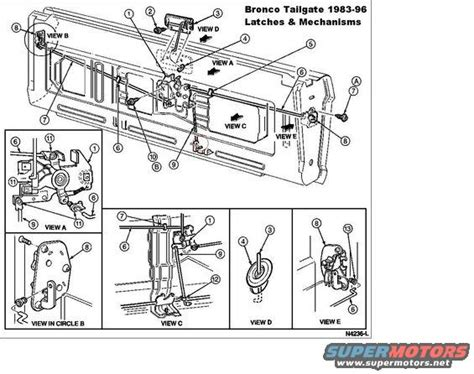 free download parts manuals 1993 ford bronco user handbook ford bronco tailgate diagram ford free engine image for user manual download