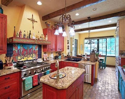 rustic mexican kitchen design ideas mexican style home