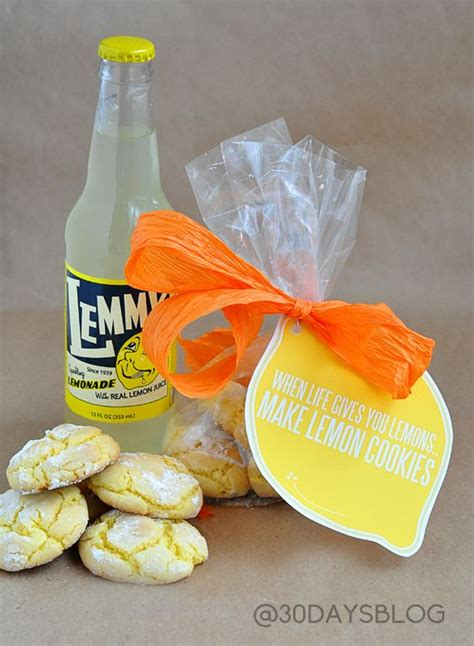 printable lemon recipes simple lemon cookies from cake mix recipe printable