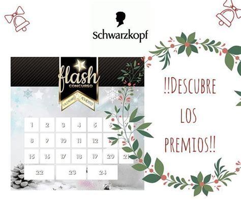 K En El Calendario Participa En El Calendario De Adviento De Schwarzkopf
