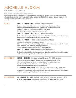 Top 10 Best Resume Templates Ever Free For Microsoft Word 10 Best Resume Templates