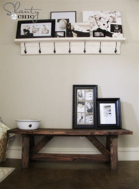 Foyer Project 15 Diy Entryway Bench Projects Decorating Your Small Space