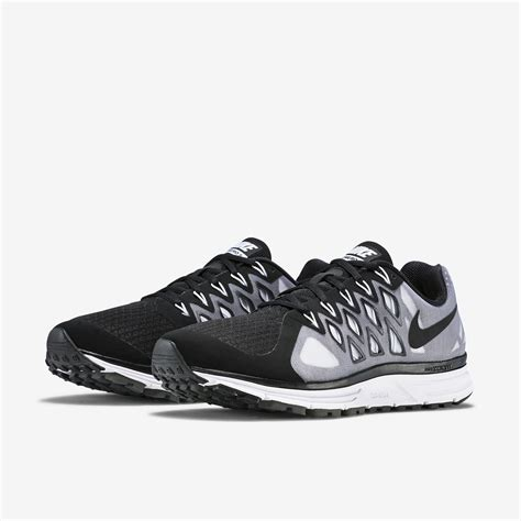 black nike shoes mens nike mens zoom vomero 9 running shoes black white