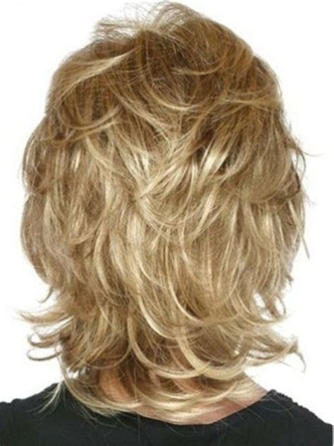 picture of layered hair on the top of the head feather with bangs 15 fine looking medium layered hairstyles with pics
