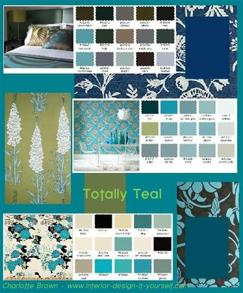 teal teal rooms and teal accents on