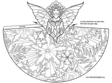imagenes de hadas para dibujar a lapiz dibujo para colorear de un hada origami de un hada