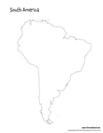 south america map outline printable south america map tim de vall