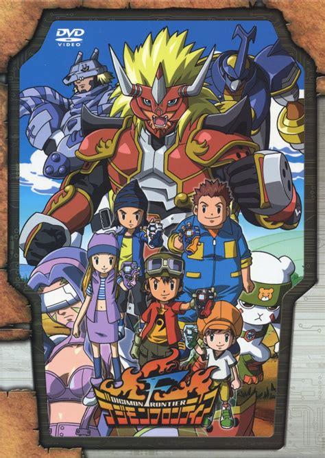 Digimon Frontier digimon frontier dvd box scans