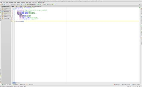 android layout design program android android studio design view too small