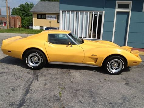 Sell Used 1975 Corvette Stingray L82 4speed Loaded And One California Owner For 36 Years In Used 1975 Corvette Stingray Canary Yellow Http Www Classifiedride View Ad Id 1187178 Used
