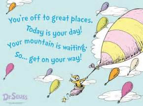 oh the places youll go dr seuss quotes quotesgram