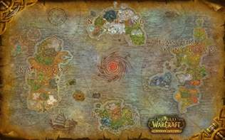 Wow World Map by World Of Warcraft Azeroth Composite Map By Amiyuy On