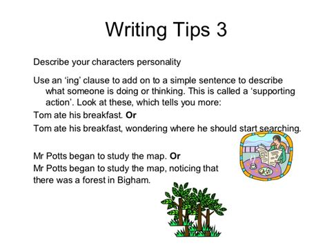 Tips For Writing A Narrative Essay by Excellent Ideas For Creating Tips On Descriptive Writing