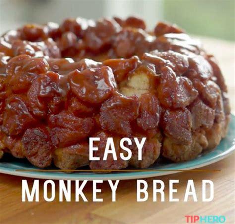 monkey bed easy monkey bread