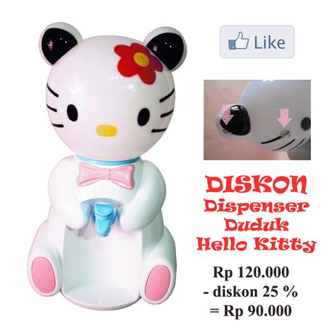 Dispenser Duduk jual dispenser hello doraemon duduk land
