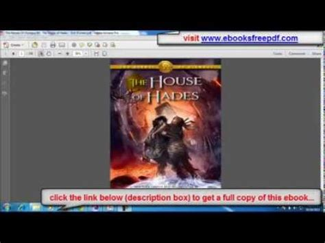 the house of hades pdf the house of hades pdf free download youtube