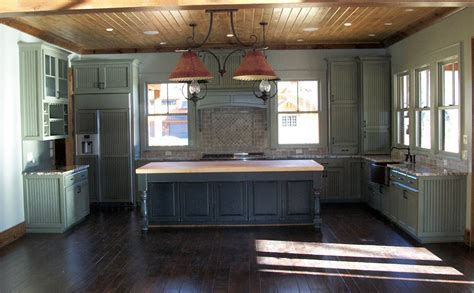 borders kitchen solid american hardwood island with handcrafted solid wood kitchen cabinets