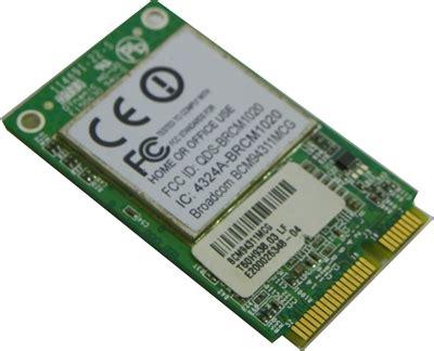 Wifi Card Broadcom Bcm93411mcag broadcom bcm94311mcg 802 11b g pci express wireless card 407159 001