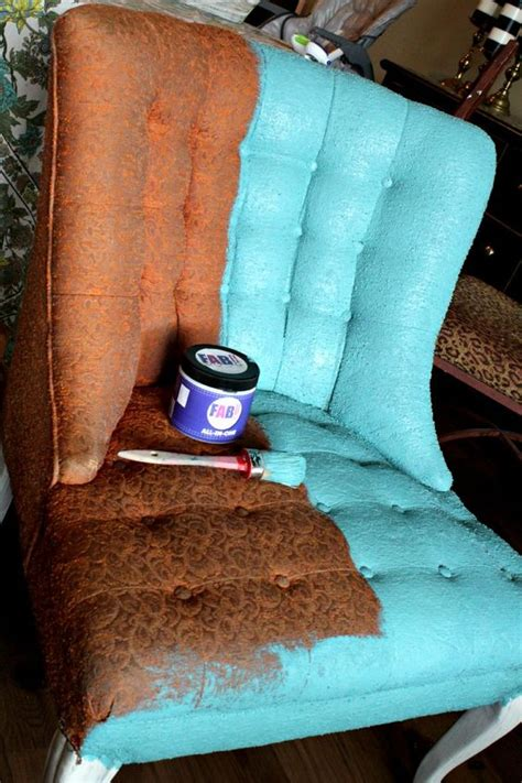 spray painting fabric furniture how to paint fabric fab fabric primer sealer refunk
