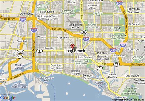 Quality Inn Long Beach Pch - map of quality inn long beach long beach