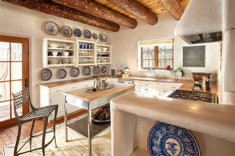 new mexico home decor adobe kitchen southwest style pinterest