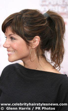 ponytail haircut for short layers front an top 25 best ideas about tiffany amber hair on pinterest
