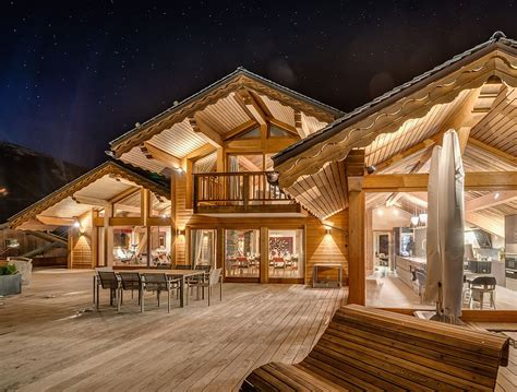 what is a chalet france s best luxury ski chalet promises an unforgettable