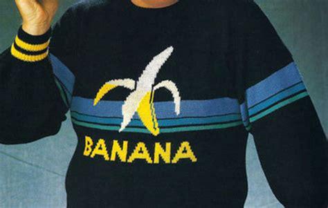 sweater jumper banana shirt banana print banana print