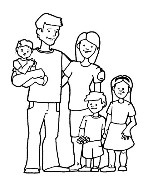 family picture coloring page the addams family free colouring pages