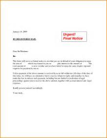 5 formal demand letter template financial statement form