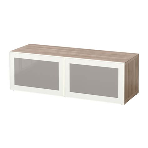 besta shelf unit with doors best 197 shelf unit with glass doors walnut effect light