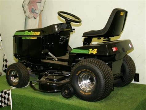 a j foyt bolens limited signature edition tractor 1987