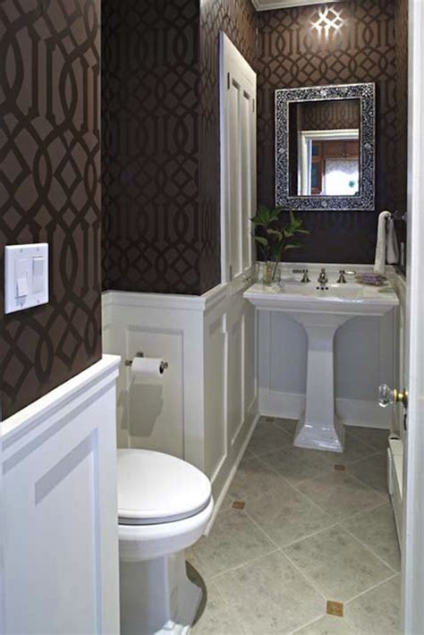 Wallpaper Wainscoting Ideas by Wainscoting With Wallpaper Design Ideas