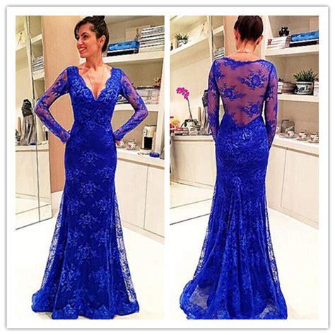 Royal Blue Sapphire 832 new royal blue prom dress sleeves formal evening