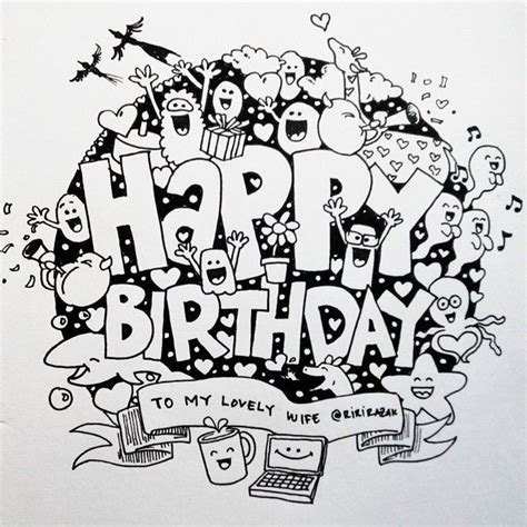 doodle happy birthday simple 19 best doodles images on doodles doodle