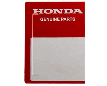 Spare Part Honda Genuine Part honda genuine parts honda