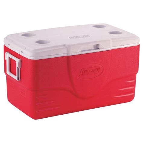 coleman 16 can gray soft sided cooler with liner