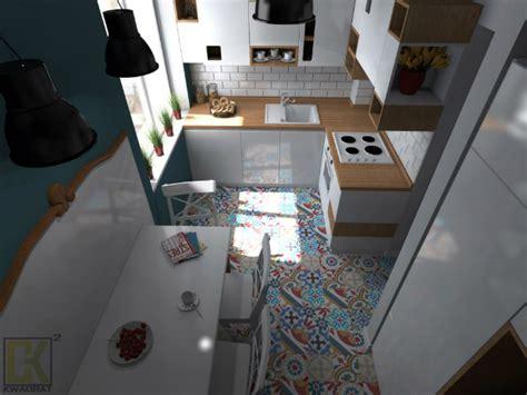 cozy small kitchen by ck kwadrat decoholic