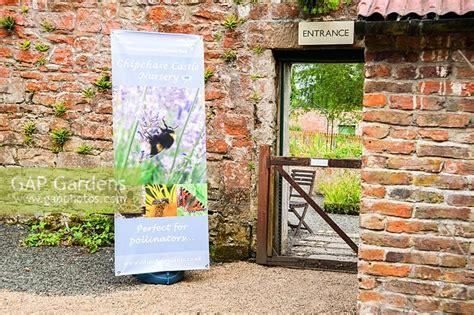 walled garden nursery gap gardens entrance to nursery in walled garden with