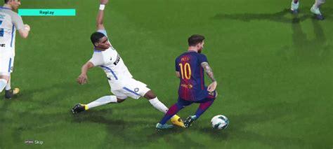 barcelona pes 2018 barcelona vs inter pes 2018 optclean a tecnologia ao