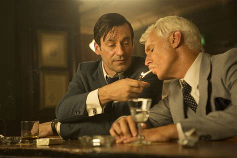 from don draper to roger sterling get the mad men look for your on mad men the only death is having no escape route
