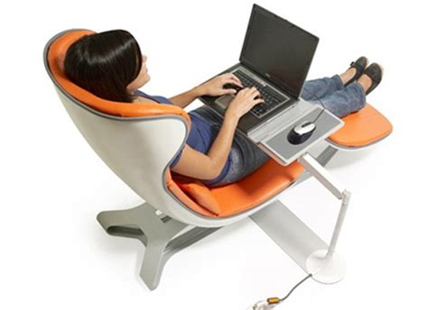 chair with laptop desk modern ergonomic computer chairs sweet home design